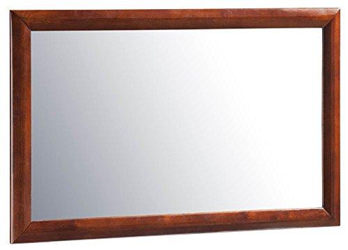 Atlantic Furniture Dresser Mirror in Antique Walnut (Atlantic Mirror)