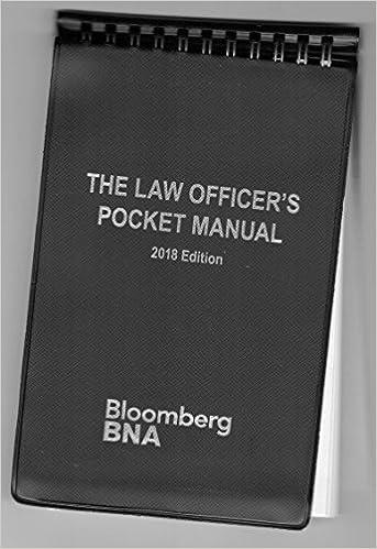 Law officers pocket manual 2018 bureau of national affairs law officers pocket manual 2018 lam poc sp edition fandeluxe Gallery