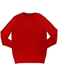 Club Room Men's Pima Cotton Cable-Knit Sweater