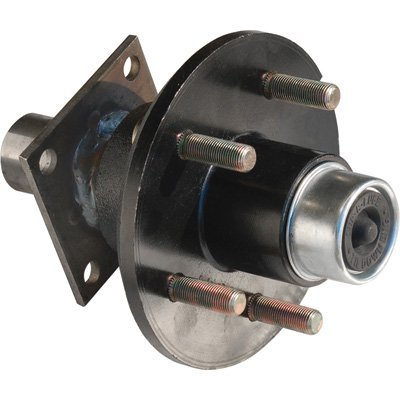 Tie Down Engineering 5-Lug Hub/Spindle End Unit for Build your own Trailer Axle System - 1750-Lb. Capacity Per Hub, Model Number 80117 by Tie Down