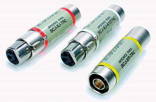 [해외]Canare BCJ-XP-TRC BNC-F In XLR-M 출력 임피던스 트랜스포머 플러그/Canare BCJ-XP-TRC BNC-F In to XLR-M Out Impedence Transformer Plug