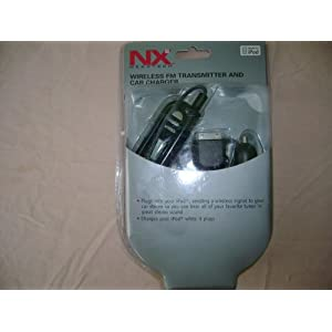 Nexxtech Fm Transmitter And Charger For iPod Nipfmdc