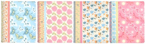 continental-accessory-corp-one-subject-notebook-patterns-of-nature-80-sheets-assorted-4-pack-2493