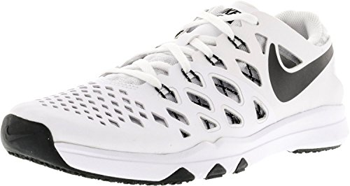 NIKE Mens Train Speed 4 Training Shoe (White/Black, 9.5 D(M) US)