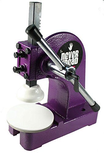 EASY Kneading of Polymer Clay - Purple NEVERknead Tool is the Machine for ALL Polymer Clay Including Sculpey Fimo Cernit Pardo Art Clay & More by NEVERknead