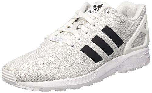 adidas ZX Flux, Scarpe da Corsa Uomo Multicolore (Ftwr White/Core Black/Grey One F17)