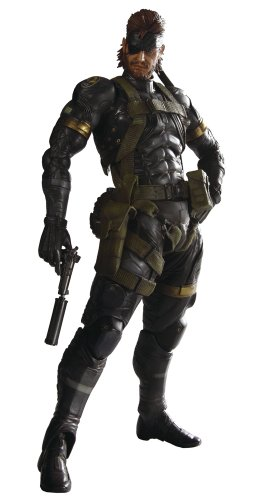 Metal Gear Solid Peace Walker Square Enix Play Arts Kai Action Figure Snake Sneaking Suit (Solid Snake Square Enix)