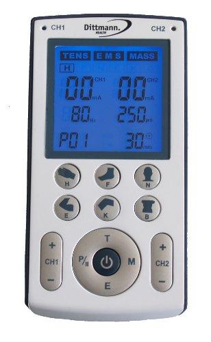 Dittmann. TEN250 Tens EMS-Massagegerät