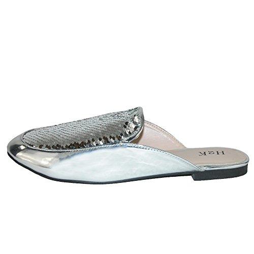 Taille Chaussons pour H2K Unique Silver Femme pt16Sxwfq