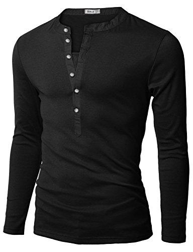 doublju-mens-henley-t-shirts-with-long-sleeve-black-medium