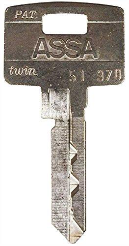 Assa High Security Locks 715931 Assa High Security 6000 Keyblank 371 - Assa High Security Locks