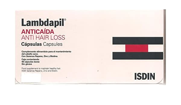 Amazon.com : Isdin Lambdapil Anticaida 60 Capsulas From Spain : Beauty