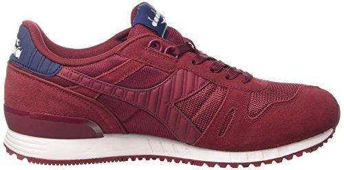 Blue II Basso Titan Collo Estate Rosso Tibetan Sneaker Diadora a Red Uomo w1aqCfnxP