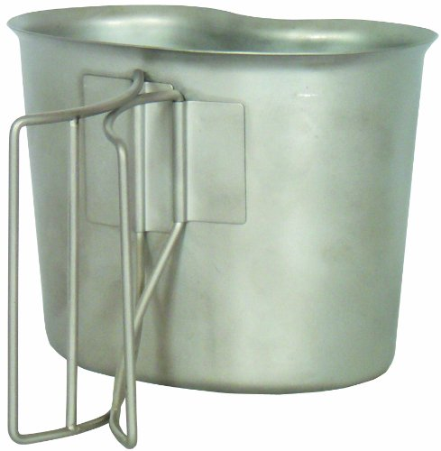 Fox 1 Qt. Canteen Cup, Stainless Steel
