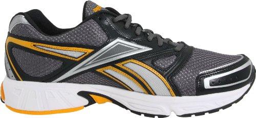Reebok Mens Instant Running Shoe Grigio / Ghiaia / Bianco / Chiaro / Argento