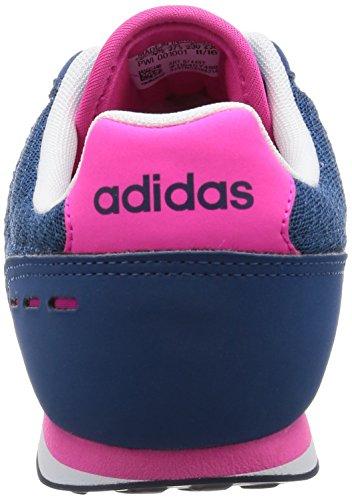 Adidas Racer Città W - B74492 Bianco-blu-rosa