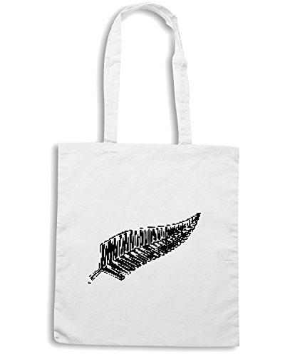 T-Shirtshock - Bolsa para la compra OLDENG00024 black fern Blanco