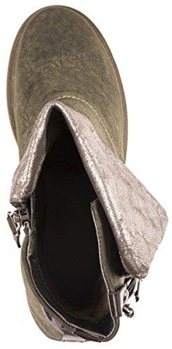 Elara - Botas Chelsea Mujer Grau New York