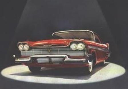 - Original Sales Brochure for 1958 Plymouth