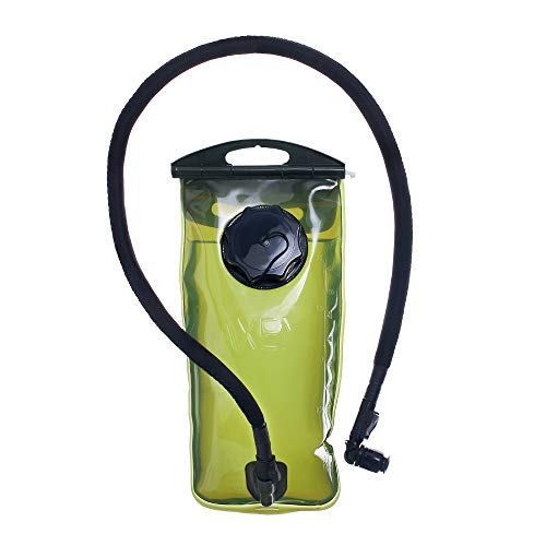 MARCHWAY 2L//2.5L//3L Tactical TPU Hydration Bladder New 3L Grey 100oz Hiking Tasteless BPA Free Water Reservoir Bag with Insulated Tube for Hydration Pack for Cycling Biking Climbing Running