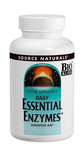 Источник Naturals Ежедневно Основные ферменты, 500 мг, 240 капсул
