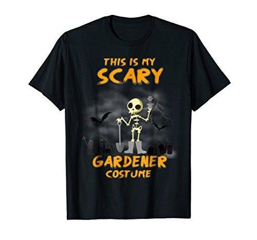 This is my Scary GARDENER Costume Halloween -