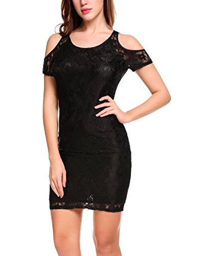 Buy black lace dress by laundry - 8