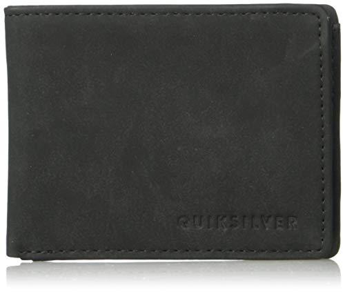 (Quiksilver Men's Slim Vintage III Wallet, Black, M)