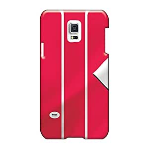 Shockproof Cell-phone Hard Cover For Samsung Galaxy S5 Mini With Support Your Personal Customized Vivid Cincinnati Reds Skin JohnPrimeauMaurice