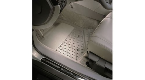 (2001-2007 Volvo V70 / XC70 OEM All-season Floor Mats (Beige))