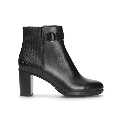Clarks London Lights Leather Boots in Black AtgkkY