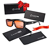 Fit Over Blue Light Blocking Glasses for Women and Men - Fitover Anti Blue Light Blocking Glasses Great for Computer or Gaming Use - Sleep Better - Stop Eye Strain