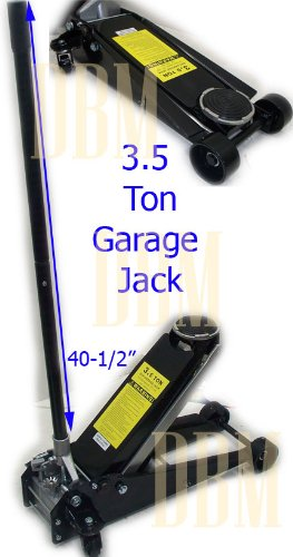 "3.5 Ton Low Profile Floor Jack Lift 3-3/4"" to 23"" Garage ..."