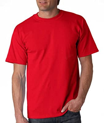 Gildan Adult Ultra Cotton T-Shirt, Red, X-Large. 2000