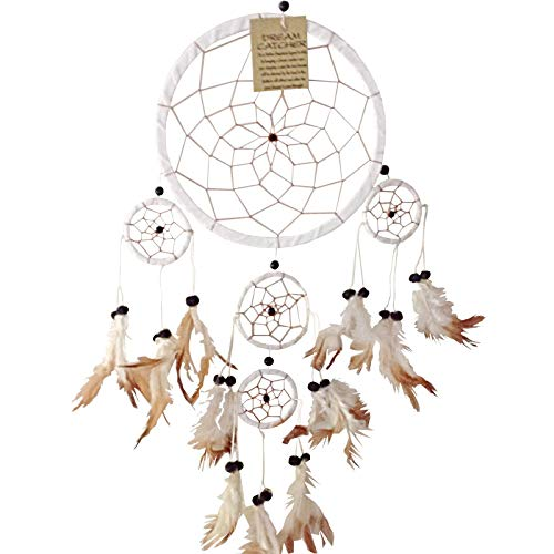 Blue Heart Colour Dream Catcher Beautiful Home Decor /& Kids Room Wall Hanging Party Bag Filler Item Catch All Those Bad Dreams No More Sleepless Nights