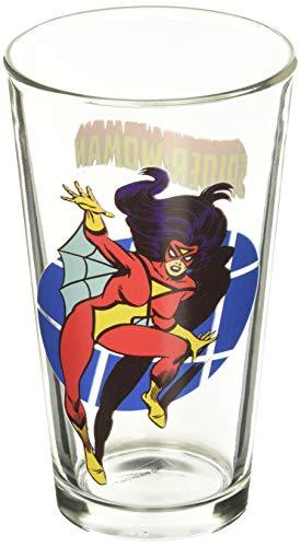 Spider Woman Toon Tumbler 16 Oz. Pint Glass