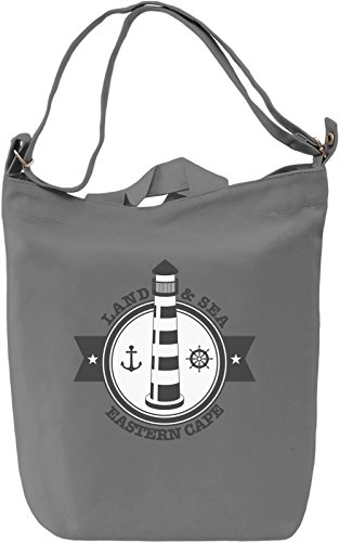 Land and sea Borsa Giornaliera Canvas Canvas Day Bag| 100% Premium Cotton Canvas| DTG Printing|