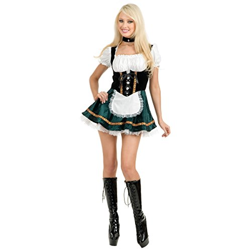 Beer Garden Girl Costume - Large - Dress Size 11-13 (Beer Garden Girl Costume)