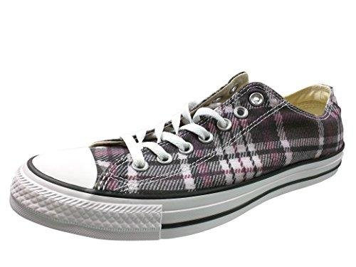 Converse Unisex Chuck Taylor All Star Ox Low Top Classic Black/Red/White Sneakers - 13.5 B(M) US Women / 11.5 D(M) US -