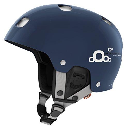 POC Receptor BUG Adjustable 2.0 Ski Helmet, Lead Blue, Medium-Large/55-58