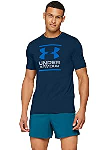 Under Armour UA GL Foundation SS T Camisa, Hombre, Azul (408), L