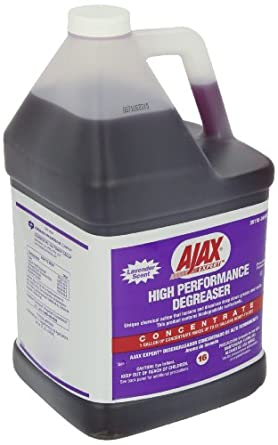 Ajax 04940 1 Gallon Concentrated Expert High Performance Degreaser (Case of 4)