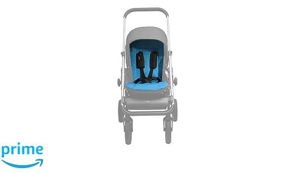 Easywalker Colchoneta universal de verano easy walker para silla de paseo buggy gris oscuro