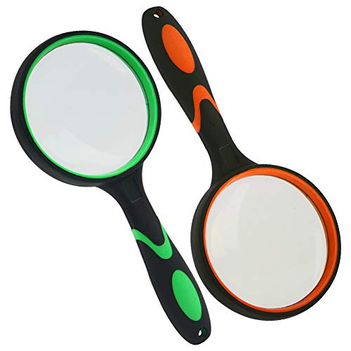 The magnifying glasses are very well made and easy to grip.