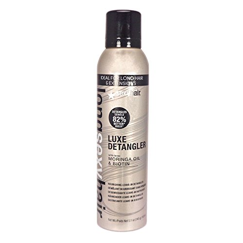SEXYHAIR Long Luxe Nourishing Leave-In Detangler, 5.1 oz