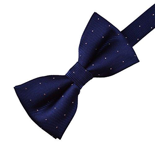 Navy Blue Bow Tie - 3