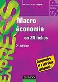 Image de macroéconomie en 24 fiches (3e édition)