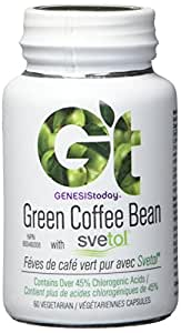 SVETOL Green Coffee Bean Extract with 45% Chlorogenic Acid GCA