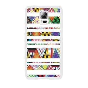 Custom Stripe Series Cool Design Zigzag Pattern Phone Case for Samsung Galaxy S5 (fabric w5011)