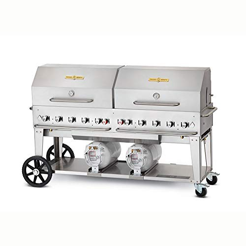Crown Verity Stainless Steel Grill - Crown Verity CCB-72RDP 72